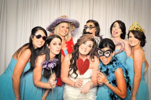 Alyssa and her bridal party.